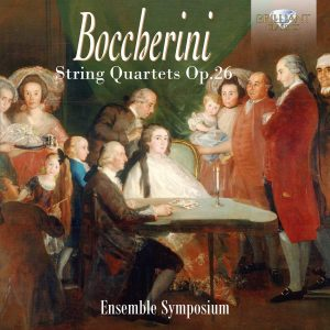 Boccherini Cover Quartets Quartetti Ensemble Symposium Laghi Violin Viola Cello