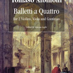 Albinoni Quartetti Quartet Balletti Violin Viola Cello Continuo