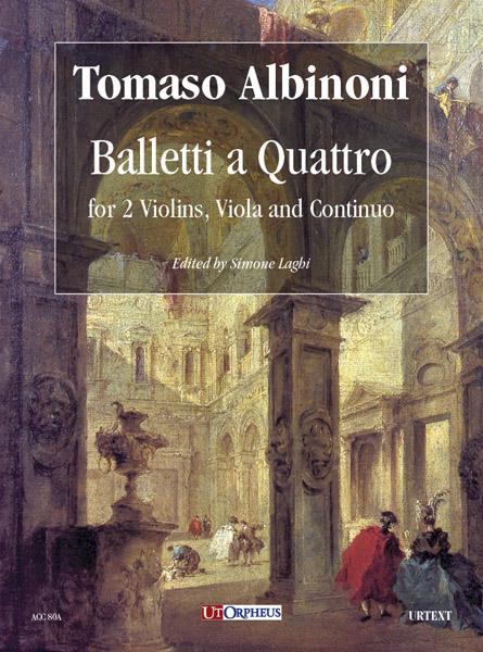 Albinoni Quartetti Quartet Balletti Violin Viola Cello Continuo